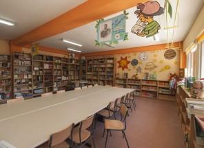 Biblioteca del colegio Buero Vallejo de San Sebastián de los Reyes, Madrid