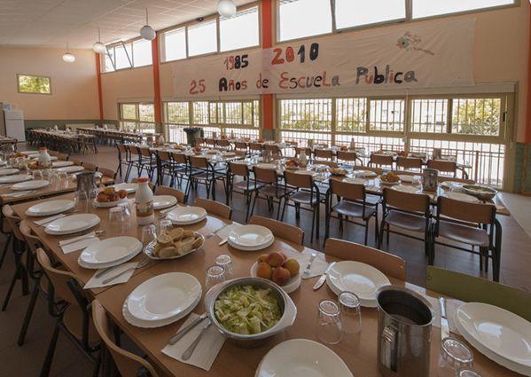 Comedor escolar colegio buero vallejo for Trabajo de comedor escolar