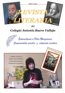 Revista literaria abril 2014 colegio Buero Vallejo