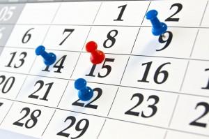 Agenda de actividades y eventos