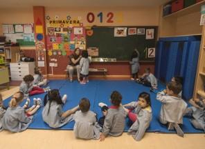 Aula de educación infantil del colegio Buero Vallejo