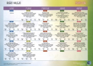 menu mayo 2016